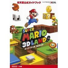 Super Mario 3D Land Nitendo official guide book / 3DS