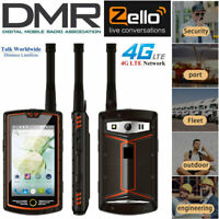 "4"" DMR 4G Android Rugged Waterproof Smartphone Walkie Talkie Digital Radio Phone"