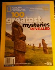 100 GREAT MYSTERIES REVEALED NATIONAL GEOGRAPHIC 2016 IN COLLECTORS SLEEVE