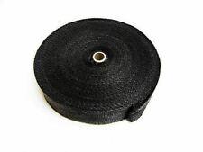 Black Graphite Exhaust Insulating Heat Wrap Tape Exhaust Shields - 20M - UK Made