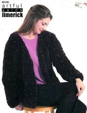 Artful yarns Limerick  # 92125  knit easy cardigan knitting patterns