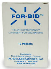 For-Bid for DOGS Stop Stool Eating Coprophagic 12 Packets Forbid