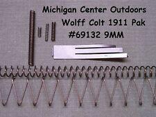 Wolff SPRING KIT for Colt Pistol 1911 1991 1911A1 9MM 8 pak w/ Mag Spring  69132