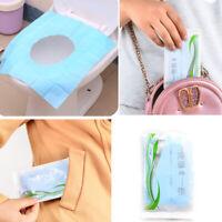 KQ_ 5pcs Toilet Seat Covers Paper Travel Flushable Hygienic Disposable Sanitary