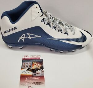 LOS ANGELES RAMS AARON DONALD AUTOGRAPHED SIGNED CLEAT JSA COA