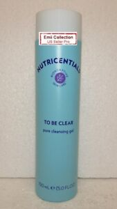 Nu Skin Nuskin Nutricentials To Be Clear Pure Cleansing Gel 5.0fl oz 150ml New
