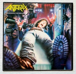 ANTHRAX . spreading the disease LP 1.Press 1986 IMPORT Sodom Metallica Slayer