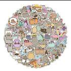 10 Pusheen the Cat Kawaii Funny Cartoon Cat Stickers