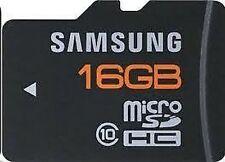 Cartes mémoire Samsung pour téléphone mobile et assistant personnel (PDA), 16 Go