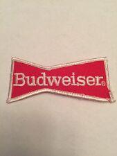 "Vintage Embroidered Uniform Patch Budweiser Beer 3 3/4"""