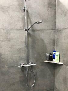 Befliesbare Duschablagen – nachträglich einbaubar - V2A Edelstahl 350mm W250