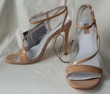aa07434c23c NEW Forever 21 Nude Beige Strappy Open Toe Ankle Wrap 4