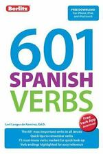 Berlitz Language: 601 Spanish Verbs by Lori Langer De Ramirez (English) Paperbac