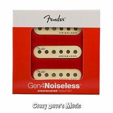 Fender Gen 4 Noiseless Stratocaster Strat Pickups Set NEW!