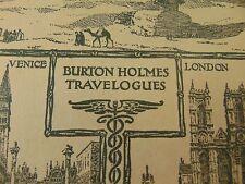 Burton Holmes Travelogues 2 Vol 1 & 13 Morocco Brazil 1917 History Photos People