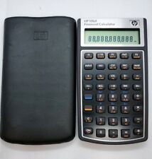 Original HP 10BII Business Financial Calculator With Soft Case