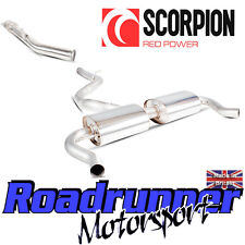 Scorpion Renault Clio RS 200 EDC Cat Back Exhaust System & Secondary Decat Pipe