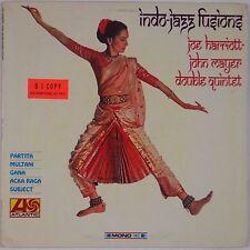 JOE HARRIOTT w/ JOHN MAYER: Indo Jazz Fusions ATLANTIC PROMO Mono NM- LP RARE!