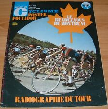 MIROIR CYCLISME N°191 1974 POULIDOR TOUR FRANCE MERCKX DANGUILLAUME E. MARTINEZ