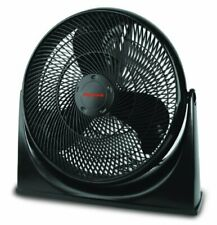 "Honeywell HF910C 18"" TurboForce Floor Fan, Black, with 90 Degree Head Pivot,"