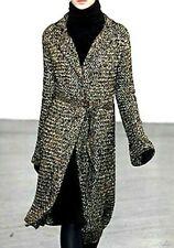 Ralph Lauren Collection Purple Label Runway Dress Sweater Coat US 6 8 / MEDIUM