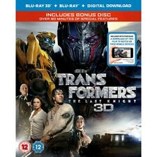 Transformers The Last Knight 3d Blu-ray Bonus Disk 90 Minutes Special Features