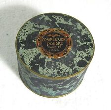 Carpier Complexion Poudre powder Paris-Chicago 1920s full sealed container á´µ J3