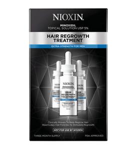 Nioxin Hair Growth Treatment - Mens 90 Day Supply
