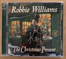 Signed Robbie Williams - The Christmas Present - Double Disc CD