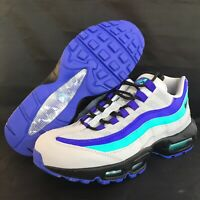 Nike Air Max 95 Pull вкладка кроссовки серый AQ4129 001