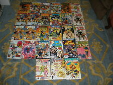 Lot of 27 X-men Comics: Astonishing, Chronicles, Prime, Amazing, Unlimited, alph