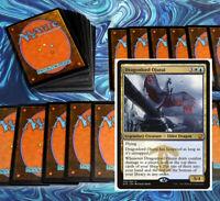 mtg WHITE BLUE FLYERS DECK Magic the Gathering rares 60 cards dragonlord ojutai