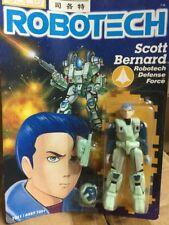 ROBOTECH Macross Harmony Gold Action Figure Scott Bernard RARE