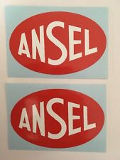 ANSEL Fuel Tank Stickers