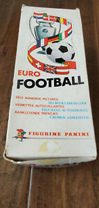 1976-77 1977 PANINI EURO FOOTBALL SOCCER BOX OF 200 UNOPENED PACKS UK ENGLAND