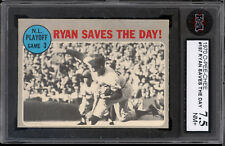 1970 TOPPS OPC O PEE CHEE #197 Nolan Ryan Saves The Day KSA 7.5 N-MINT+ NY Mets