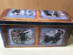 Blechdose - Keksdose - Box Weihnachten xmas ca. 17x9x7 cm