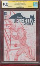 Batman Detective Comics 44 CGC 9.4 SS Catwoman Gotham Original art Sketch no 8