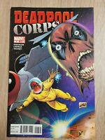 Deadpool Corps #7 FN 2010 Marvel Comic Liefeld Art