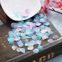 110Pcs/Bag Shell Sequins Clothing 13mm DIY Paillettes Sewing Craft Accessories