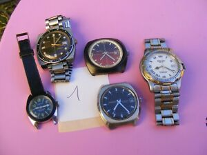 Lot de montres plongée  Beuchat timex citizen divers skin