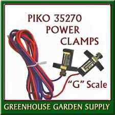 PIKO 35270 Track Power Clamps Pair with Wires >LGB 5016/50160 New German Made