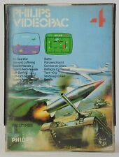 Philips Videopac Game / jeu - N° 4 - Air-Sea War - Complete with Box
