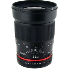 Rokinon 35mm f/1.4 AS UMC - Sony E-Mount with 77mm Tiffen UV Filter