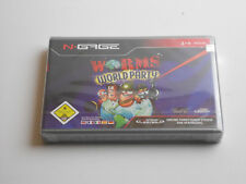 Worms WORLD PARTY per Nokia N-GAGE/NGAGE * SEALED *