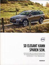 Volvo V70 XC70 S80 Selection 05 /  2015 catalogue brochure Sondermodell Limited