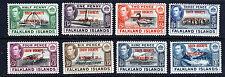 FALKLAND ISLANDS SOUTH ORKNEYS KG VI 1944 Overprinted Set SG C1 to SG C8 MINT