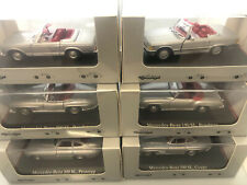 Set 6 Mercedes-Benz Classic Collection 300 SL 50 Years SL 1:43  Issued 2003 NEW