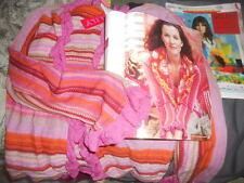 NWT Oilily Archives ~ Art to Wear ~ Rare Flamenco Kilwa Stripe Cardigan XL $248