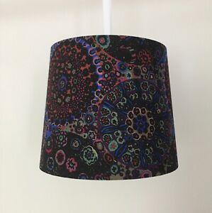 Beautifully Handmade Empire Lampshade In Kaffe Fassett 'Milefiore' Fabric (Dark)